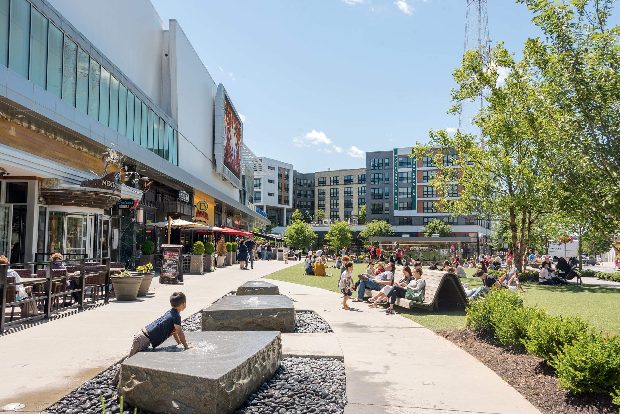 The Mosaic District in Fairfax County, Virginia offers national retailers, gourmet dining, a movie theater and more. Explore moving to Northern Virginia.